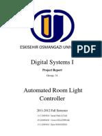 Automated Room Light Controller Rapor