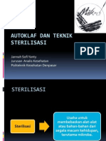 Autoklaf Dan Teknik Sterilisasi