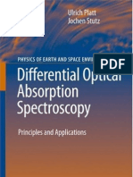 Differential Optical Absorption Spectroscopy_Principles and Applications