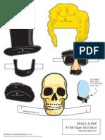 Paper Doll Skull
