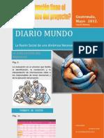 Periódico Ultima  Edición, Paola García