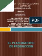UNIDAD 4. GESTIÓN DE LA PRODUCCIÓN I