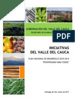Iniciativas Valle Del Cauca PND 2010-2014