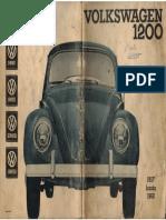 Manual 1200 - Agosto 1957 Hasta Julio 1960