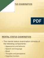 Mental Status Examination