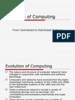 Unit I Evolution of Computing