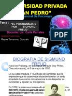 Freud Psicoanalisis (Elaborado Por Gonzalo Reyes Tarazona - Barranca Peru)