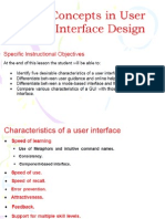 User Interface Design Slides