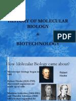 History of Molecular Biology