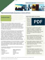 Elegir Investissement Québec y ampliar su Proyección en América del Norte,Portalanza Metal Inc, Ing Edgar Portalanza