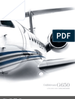 G650 Specifications Sheet