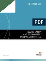 Petroleum HSE Management System