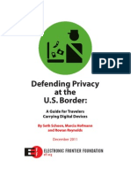 EFF Border Search Electronic Devices
