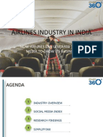 Social Media Research on Indian Airline Industry