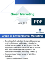 1 Green Marketing June 2010