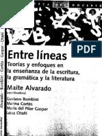 ALVARADO, MAITE  Enfoques de La Ensenanza de La Escritura