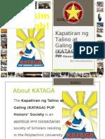 Kataga Intro May 3, 2012