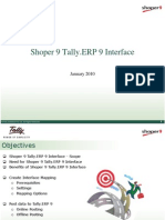 Shoper 9 Tally ERP 9 Interface | Tally Features | Tally Chennai  | Tally Web Interface