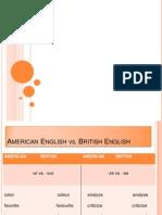 American Eng. vs. British Eng.