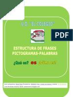 Cuadernillo Fichas Estructura Frases UD EL COLEGIO