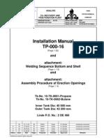 Tanks Installation Manual