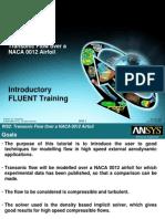 Fluent12 Workshop 02 Airfoil