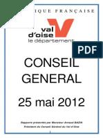 Ordre du Jour Conseil Général 201205251