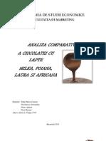 Analiza Comparativa a Ciocolatei Cu Lapte - Nicolaescu Nitis, Osiac
