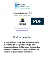 Energia de Portugal - Lessons Bootcamp nº5