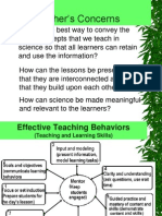 Science Teaching and Learning in the Context of the 2002 c~2