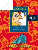 The Motley Fool 10 Steps to Financial Freedom PDF