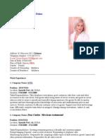Model cv in engleza cv in engleza yelopaper Images