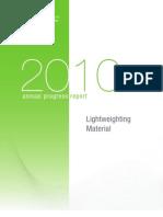 2010 Light Weighting Materials