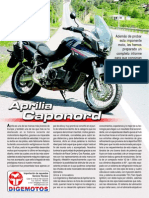TEST Aprilia Caponord Demotos