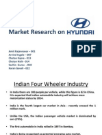 Market Research on Hyundai