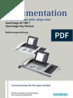 Bedienungsanleitung OpenStage 60-80 T HP3000-HP5000