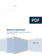 Natural Optimism