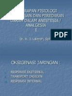Penerapan Fisiologi an Dan Peredaran Darah Dalam Anestesia