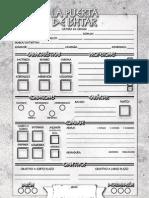 La Puerta de Ishtar - Hoja de Personaje