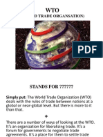 WTO PPT BY ALOK