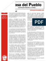 Casa Del Pueblo  PSOE- La Rambla (Mayo 2012)