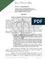 STJ - CONSUMIDOR - COBRANÇA DE JUROS IMÓVEIS NA PLANTA