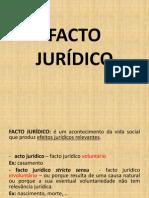 facto jurídico
