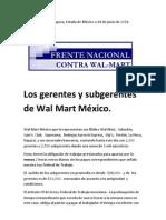 Los+gerentes+y+subgerentes+de+Wal+Mart+México.
