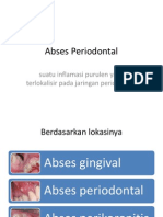 Abses Periodontal