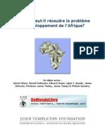 L'argent peut-il résoudre le problème du développement de l'Afrique ? - UnMondeLibre.org
