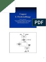 Copper 4. Hydro Metallurgy