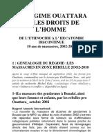 Alassane Ouattara et les droits de l'homme