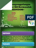 ASKEB 4 cara penanggulangan akseptor kb bermasalah (kondom)