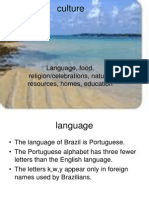 1 Taylor Brazil's culture